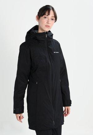AUTUMN RISE - Cappotto invernale - black