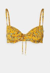 watercult - EARTHBOUND DITSIES - Bikini top - golden harvest - 0