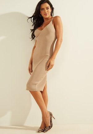 ANLIEGENDES - Shift dress - beige