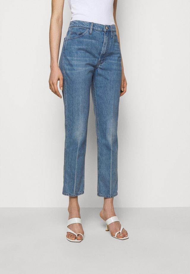 LE ITALIEN - Jeans straight leg - pure blue
