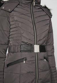 Morgan - GIRO - Abrigo de plumas - gris anthracite - 7