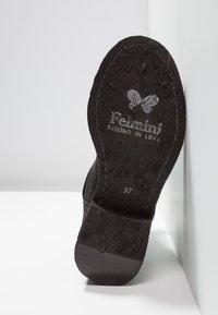 Felmini - GREDO - Cowboy/biker ankle boot - pacific black - 6