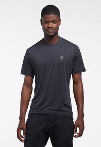 Haglöfs - Print T-shirt - true black - 0