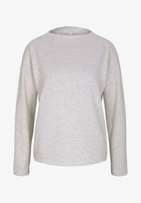 TOM TAILOR DENIM - Sweatshirt - creme beige melange - 4