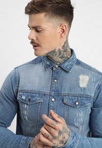 Redefined Rebel - JACKSON JACKET - Koszula - light blue - 4