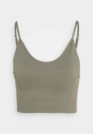 LIFESTYLE SEAMLESS VESTLETTE - Toppe - steely shadow