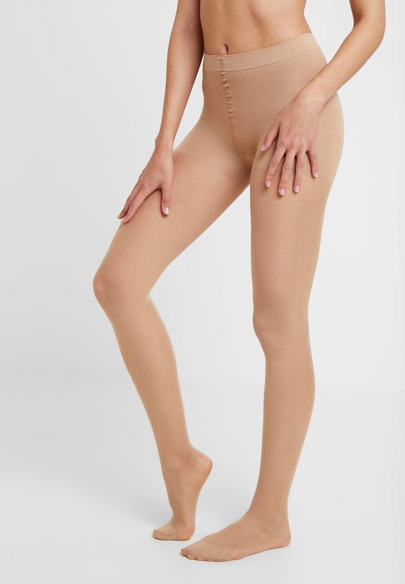 Swedish Stockings - MOA CONTROL TOP 20 DEN - Panty - sand