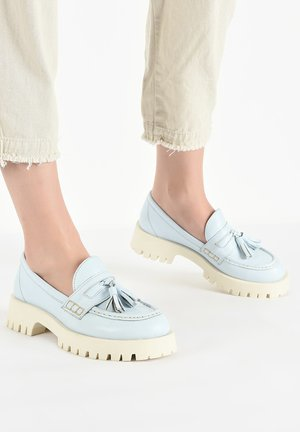 Mocassins - light blue