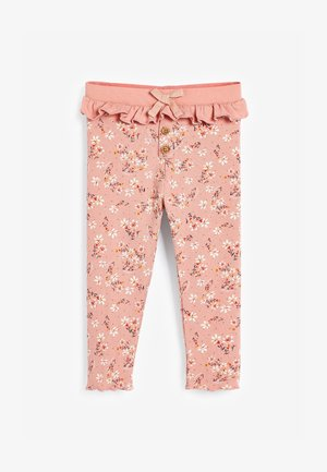 DITSY FRILL RIB  - Leggings - Trousers - pink
