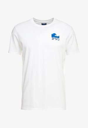 THE WAVE - Print T-shirt - white