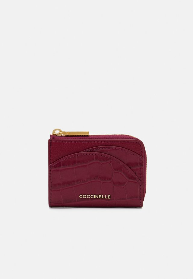 ZIP CARD CASE - Portemonnee - purple