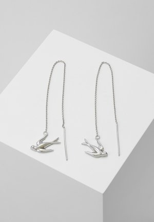 SWALLOW EARRING - Náušnice - silver-coloured