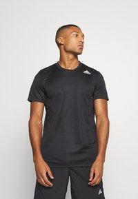 adidas Performance - HEAT.RDY TRAINING SLIM SHORT SLEEVE TEE - T-shirt print - black - 0