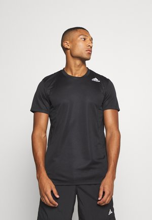 HEAT.RDY TRAINING SLIM SHORT SLEEVE TEE - Print T-shirt - black