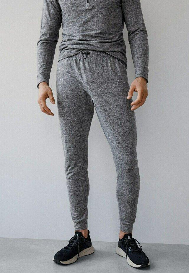 Tracksuit bottoms - mottled grey