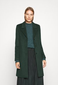 Selected Femme - SLFSASJA COAT - Klasický kabát - green gables - 0