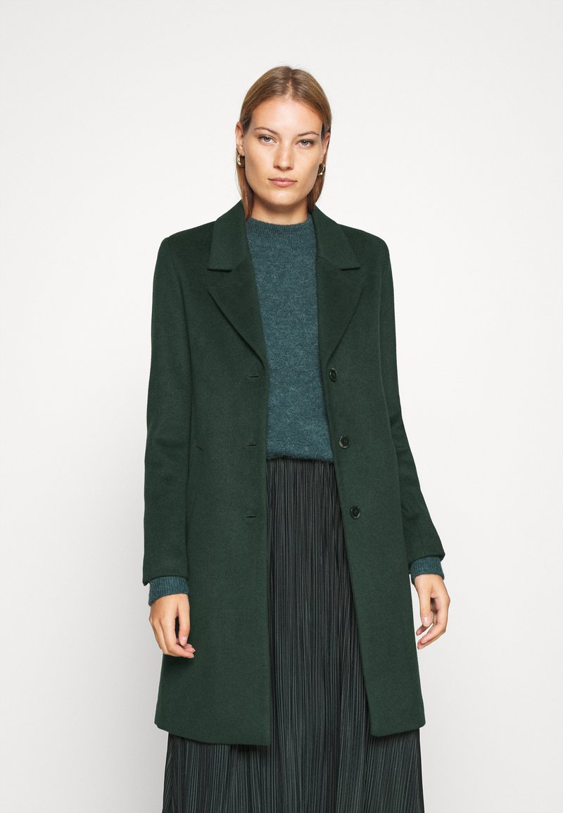 Selected Femme - SLFSASJA COAT - Klasický kabát - green gables