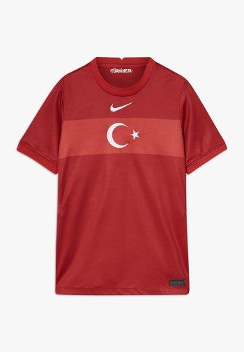 TÜRKEI Y NK BRT STAD SS AW - Klubové oblečení - gym red/sport red/white