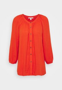 BLOUSE - Blusa - orange red