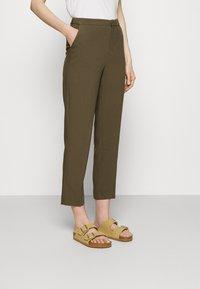 Anna Field - Trousers - khaki - 0
