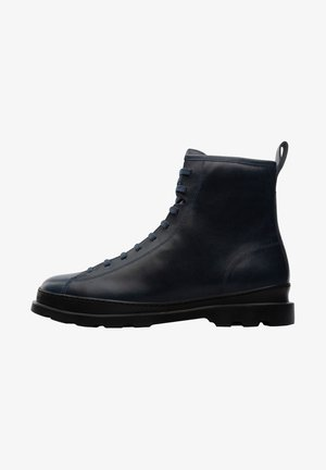 BRUTUS - Lace-up ankle boots - blau