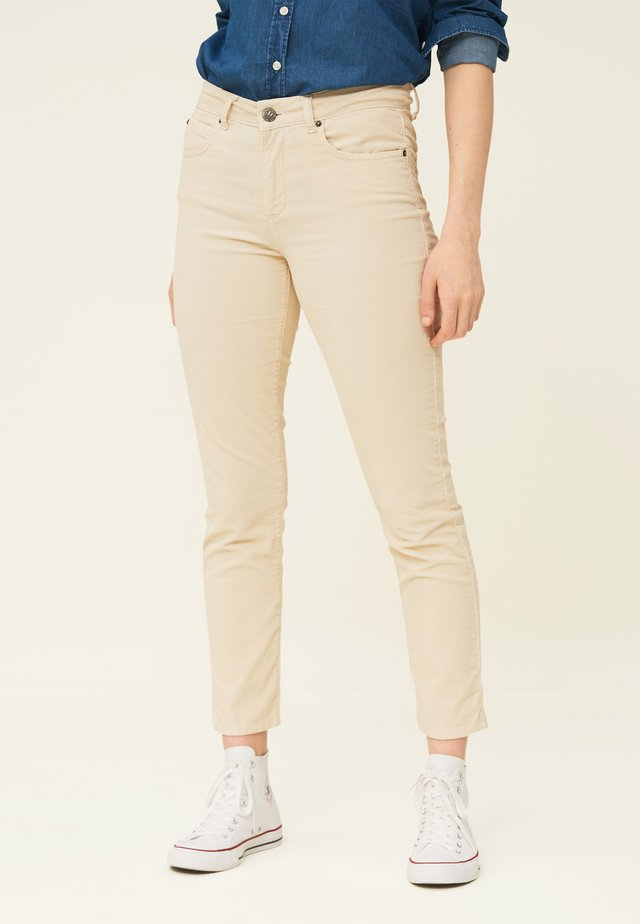 ZOE  - Trousers - light beige