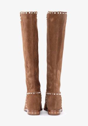 Stivali alti - marrone