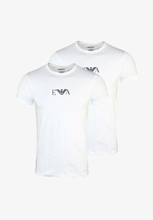2 PACK  - T-shirt imprimé - white