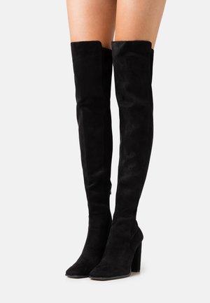CHOAN - Stivali sopra il ginocchio - black