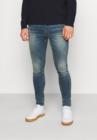 Nagev - TYO - Džíny Slim Fit - dirty medium - 0