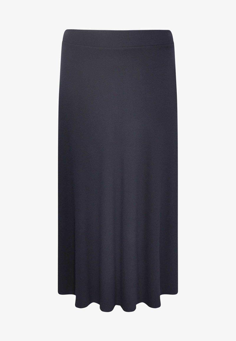 Yoek - Pleated skirt - blue