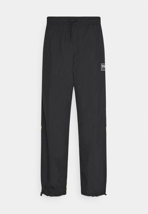 CRINKLE  - Tracksuit bottoms - black