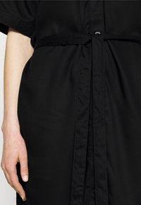 Dedicated - DRESS BORNHOLM - Shirt dress - black - 4