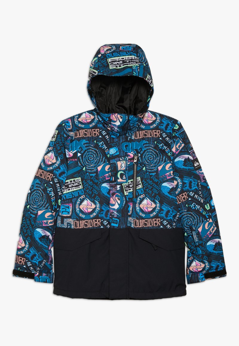 Quiksilver - MISS BLOC - Snowboard jacket - black bark to the moon