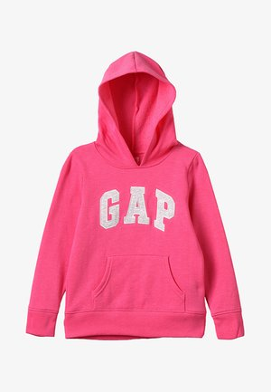 GIRLS ACTIVE LOGO HOOD - Jersey con capucha - pink