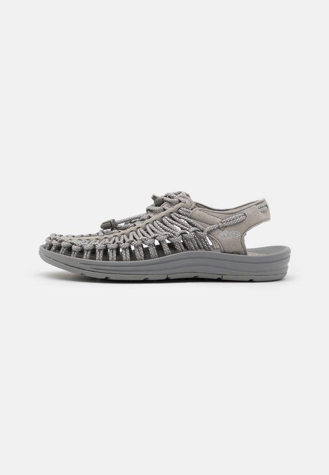 UNEEK - Walking sandals - silver/drizzle