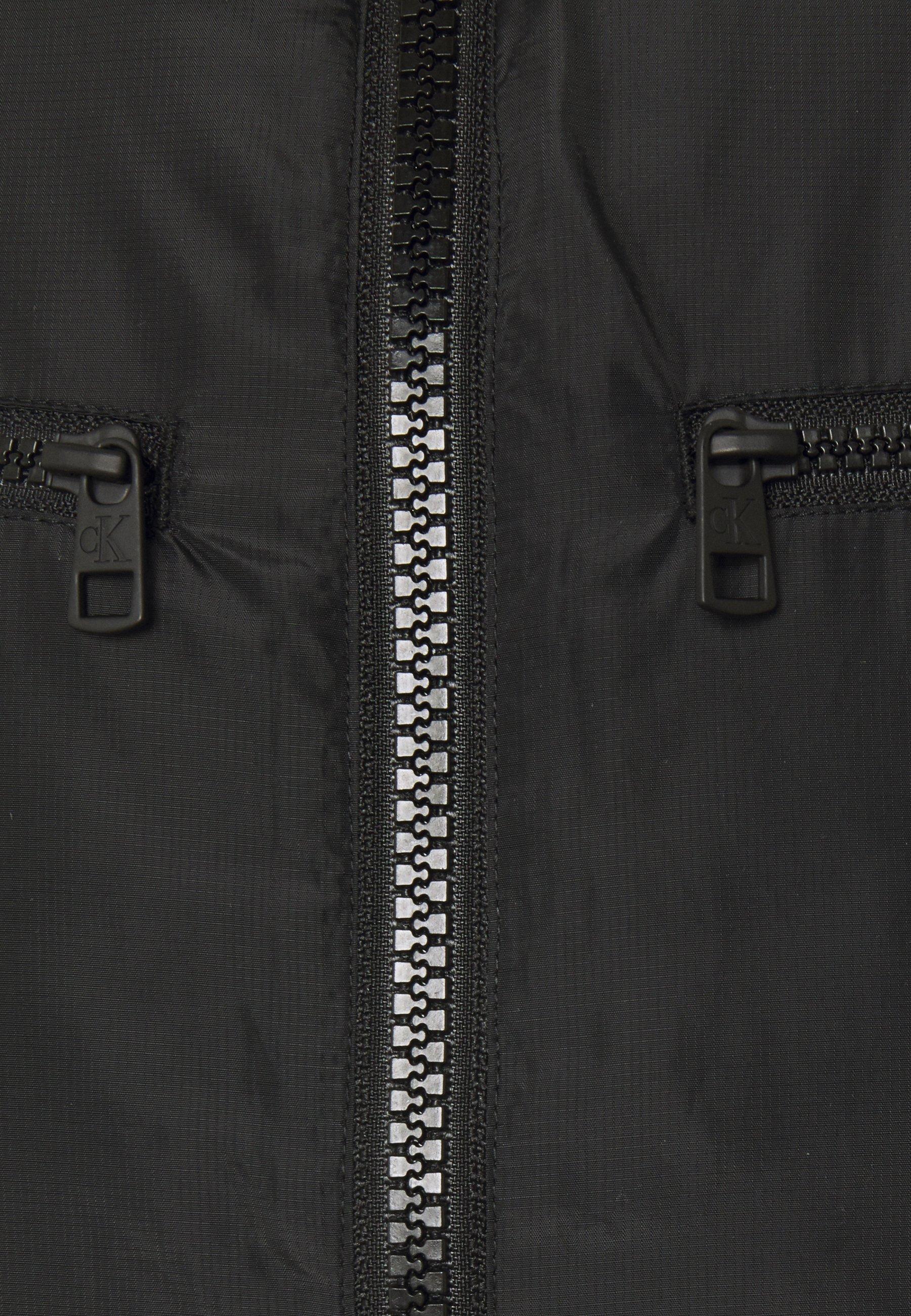 Limited New Wholesale Calvin Klein Jeans PADDED MOTO JACKET - Light jacket - black | men's clothing 2020 MYyhH