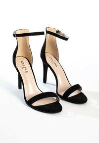Celena - High heeled sandals - black - 5
