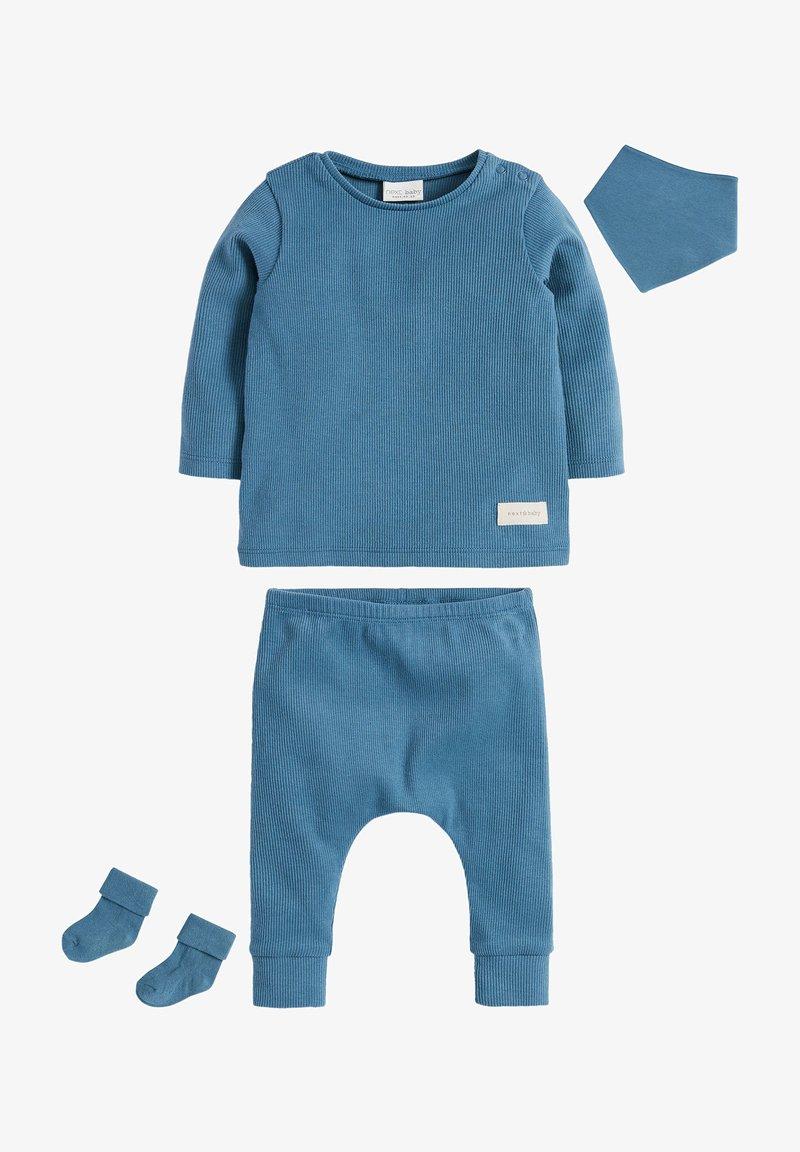 Next - 4 PIECE - Tracksuit bottoms - blue