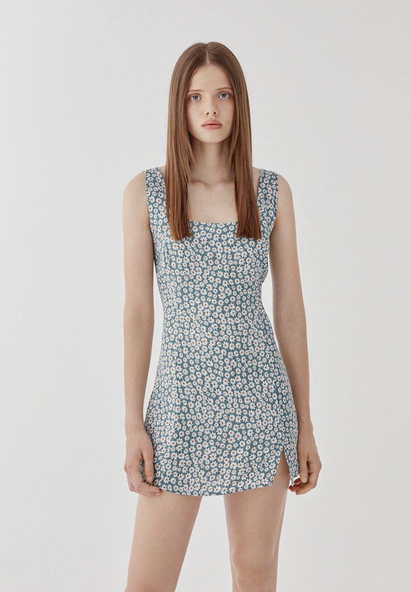 PULL&BEAR - Day dress - blue