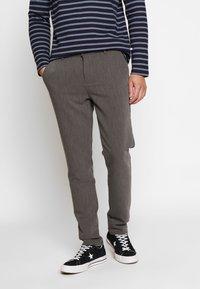 Samsøe Samsøe - FRANKIE PANTS - Trousers - dark grey - 0