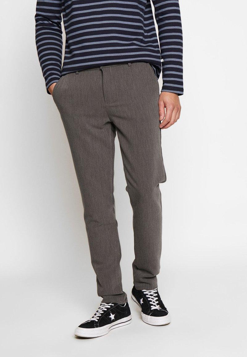 Samsøe Samsøe - FRANKIE PANTS - Trousers - dark grey