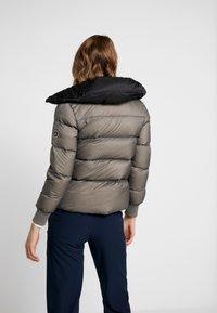 Cross Sportswear - A-SHAPE JACKET - Kurtka puchowa - steel grey - 2