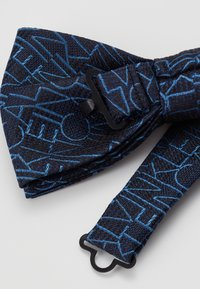 Calvin Klein - ALL OVER LOGO BOW TIE - Bow tie - blue - 3