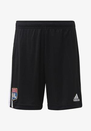 OLYMPIQUE LYON AWAY AEROREADY SHORTS - Sports shorts - black