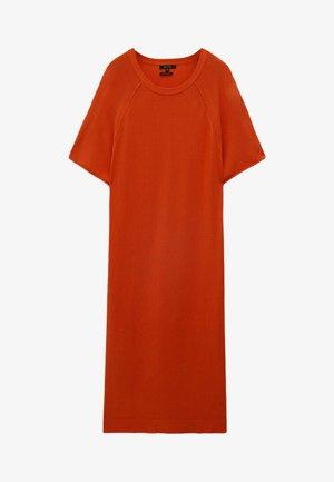 KURZÄRMELIGES - Jersey dress - coral