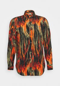 Vivienne Westwood - BUTTON KRALL - Shirt - black/orange/olive - 6