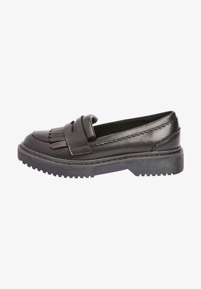 Scarpe senza lacci - black