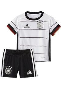adidas Performance - DEUTSCHLAND DFB HEIMTRIKOT BABYKIT - Pelipaita - white/black - 3