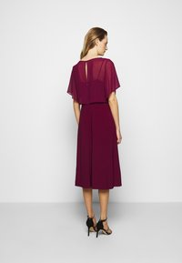 Lauren Ralph Lauren - MID WEIGHT DRESS COMBO - Cocktail dress / Party dress - exotic ruby - 2